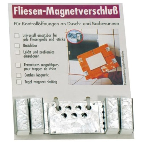 Fliesenmagnet-Verschluss