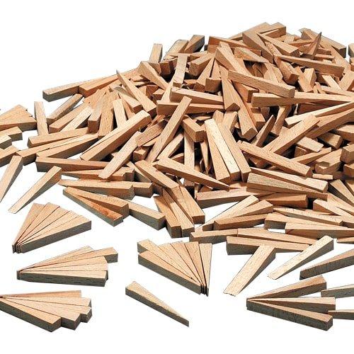 Fliesenholzkeile