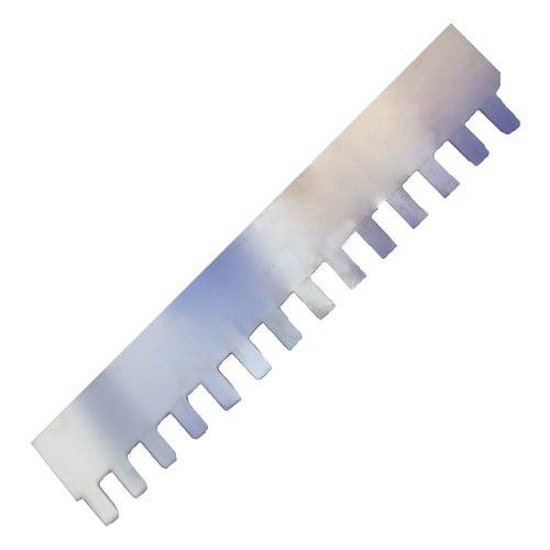 Zahnleiste wechselbar 10 mm Zahnung für Zahnglättekelle Art. 10630