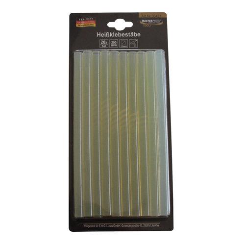 Ersatz Heißklebe Stifte, 20 Stück, Ø 11 mm, 200 mm Länge Art.-Nr. 10845