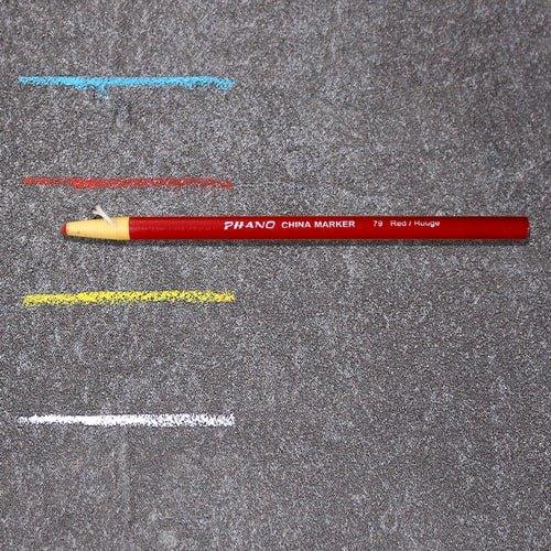 Markierungsstift rot, wasserfest
