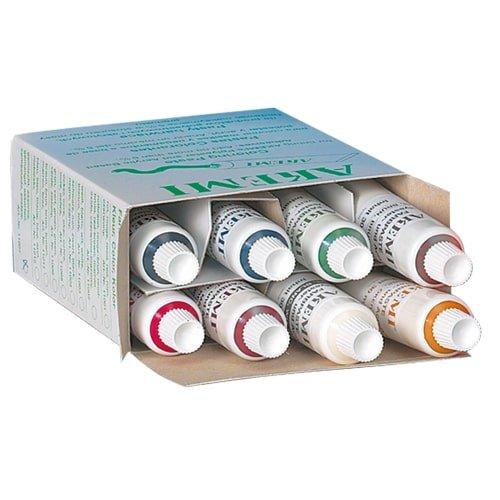 Farbpasten gemischt, 8 Tuben Art.-Nr. 11212