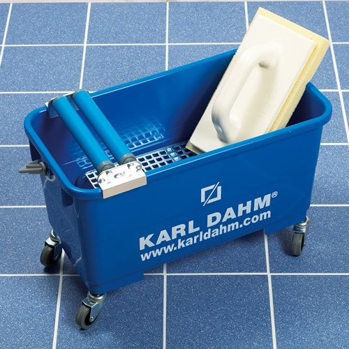 Express- 2-roller cleaning set with roller mount - rollers on top