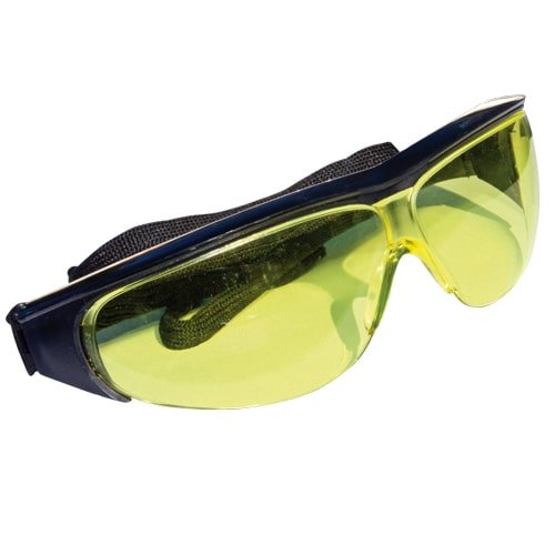 Schutzbrille, gelb