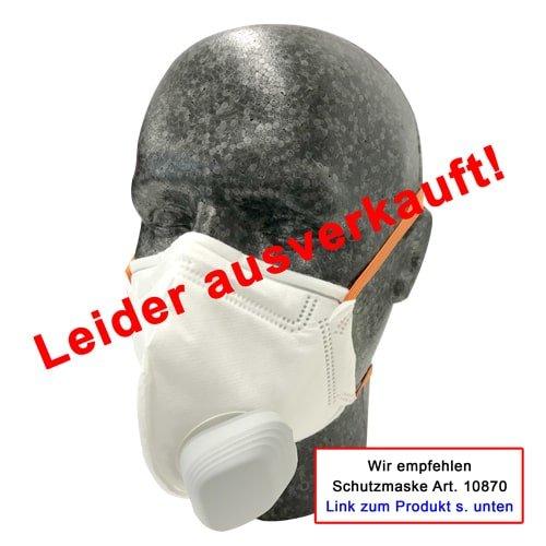 Staubschutzmaske Active mit Atmungsventil, 10 Stück | KARL DAHM