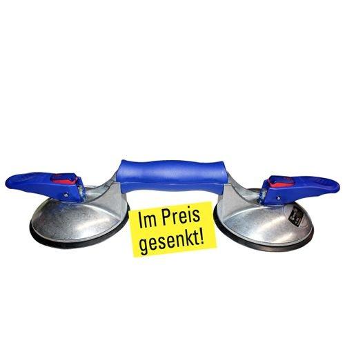 Doppel-Saugheber mit Vakuum-Sicherheitsanzeige Art. 11799