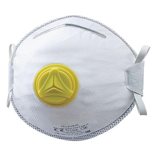 Atemschutzmaske mit Ventil | Schutz vor Feinstaub Stufe FFP2, Atemschutzmaske weiß mit Ventil
