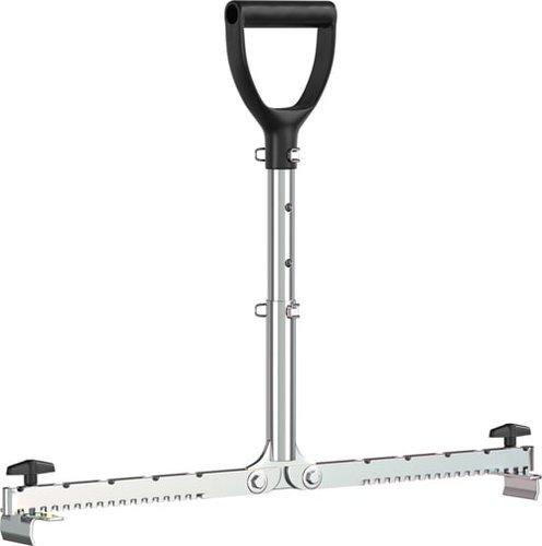 Plattenheber mit langem, höhenverstellbarem Griff. Für Fliesen und Platten von 30 bis 62 cm. Rückenschonend arbeiten