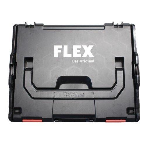 FLEX Werkzeug L-Boxx aus robustem Kunststoff für die Baustelle