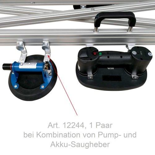 Verlängerter Winkel zu Pump-Saugheber für Verlegerahmen Big Size von KARL DAHM