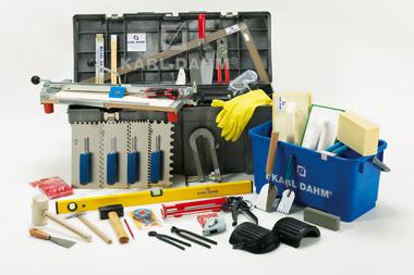 Art.-Nr. 10692 Berufseinsteiger-Werkzeugausrüstung für Fliesenleger