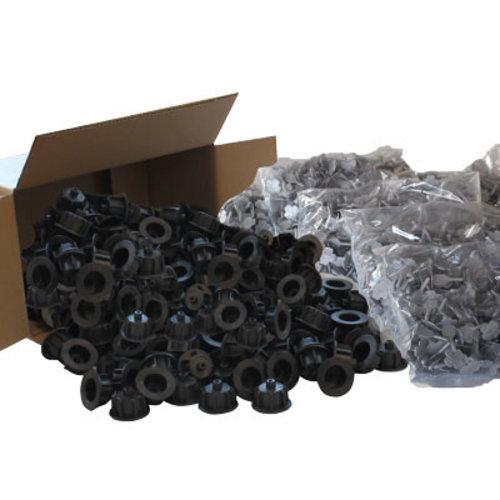 Nivelliersystem XXL-Set 1 mm schwarz Art. 12448