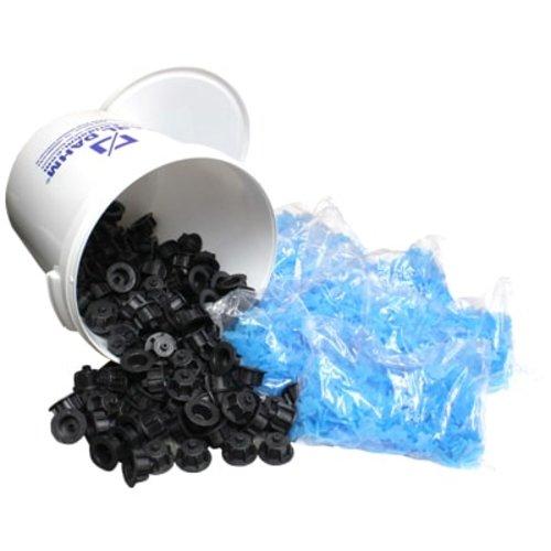 Maxi-Set schwarz, 3 mm Gewindelaschen Art. 12513