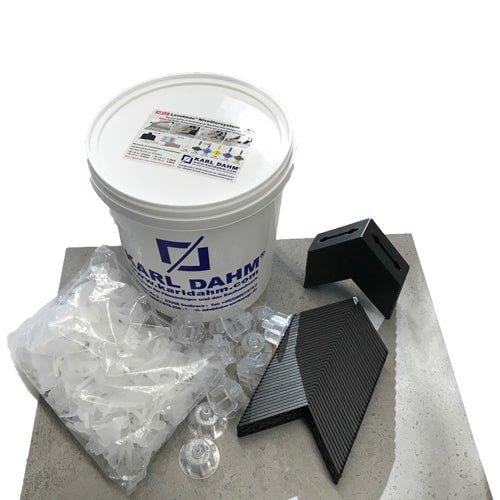 Nivellierset transparent - Jetzt mit unseren praktischen Nivellierecken für perfekt verlegte Fliesen