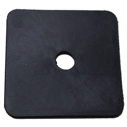Ausgleichsplatte TPE zu 12600 100x100x2mm, Art. Nr 12601