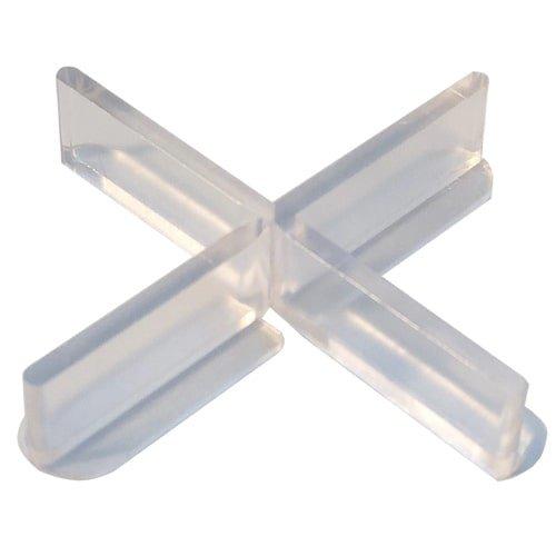 Fliesenkreuze 100 Stück, transparent mit abbrechbarem Flügel für Randverlegung - günstig kaufen bei KARL DAHM