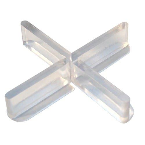 Fliesenkreuze transparent, 100 Stück, mit abbrechbarem Flügel und erweiterter Auflagefläche - NEU bei KARL DAHM