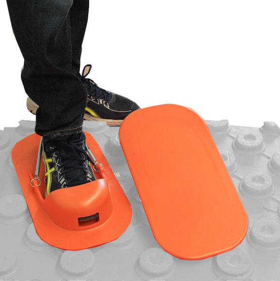 Bekotec-Schuhe orange
