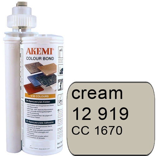 Colour Bond Farbkleber, creme Art. 12919