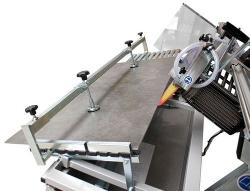 Holding system for miter cuts with 2 mounting supports, 120 cm, order no 21132