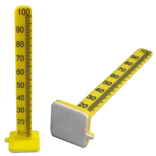 Höhenmesspunkte gelb, 100 mm, 18 Stück Art. 12042