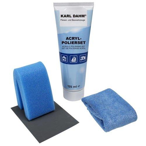 Acryl-Polierset zum Entfernen von kleinen Kratzern | 4-teiliges Set von KARL DAHM