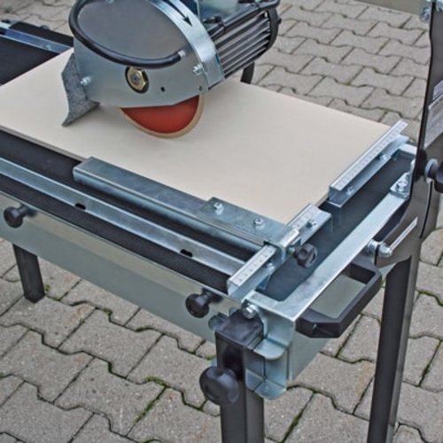 Stop bar to upgrade our wet saw D8, Order No. 21037