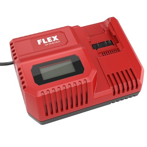 Schnelladegerät FLEX zu FLEX Akku-Serie. Passend für 18 und 10,5 V Akkus von FLEX