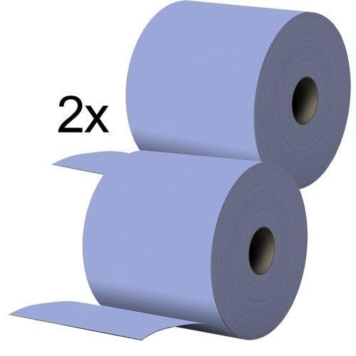 Papierputztücher auf Rolle