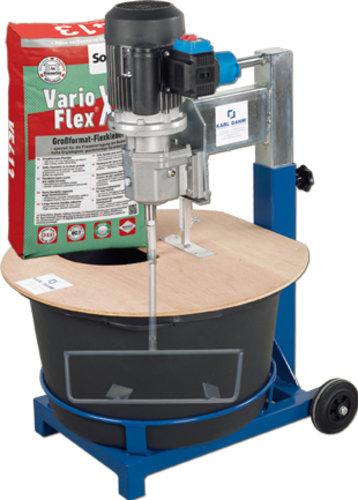 Rührfix 65 l - Anrührmaschine von KARL DAHM - Bis zu 50 kg/Liter auf einmal anrühren