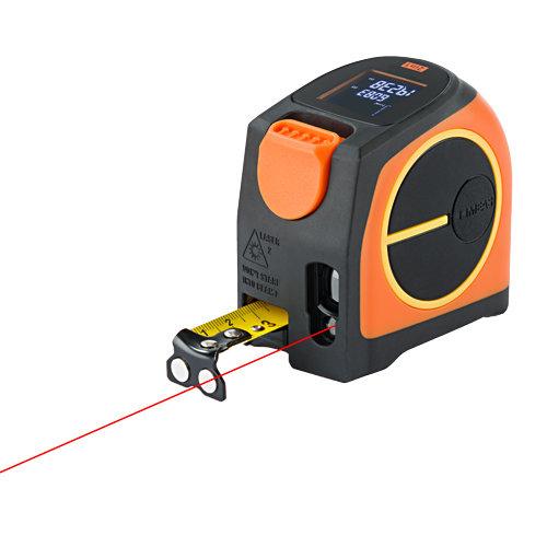 Laserentfernungsmesser und Bandmaß
