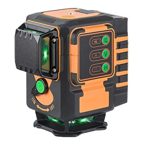 Kreuzlinienlaser selbstnivellierend, mit grünen Laserlinien. Für die Wand- und Bodenverlegung. Der perfekte Laser für den Fliesenleger. Jetzt bei KARL DAHM erhältlich.