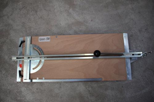 Fliesenschneider 610 mm verstellbarer Winkel