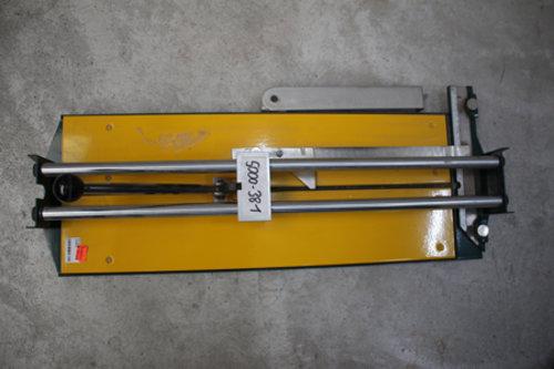 Fliesenschneider 610 mm Metall