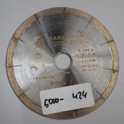 Diamanttrennscheibe Ø 180 mm Feinsteinzeug