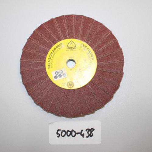 Fächerschleifscheibe 165er K80 5000-438