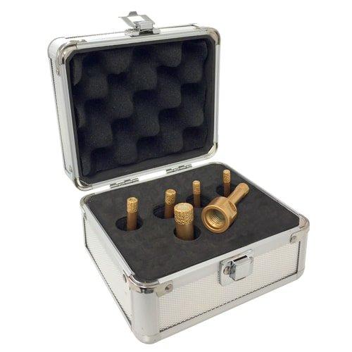 Diamant-Trockenbohrkronen GOLD Box, M14 für Installationen von KARL DAHM