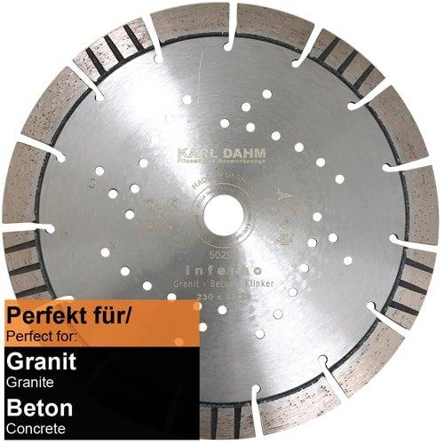 DTS 14: Diamanttrennscheibe Ø 230 mm Art. 50294