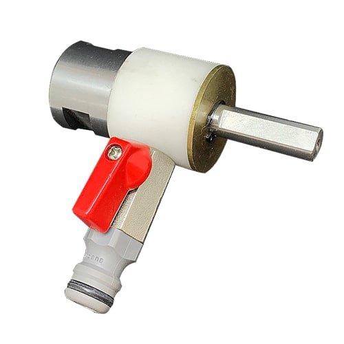 Wasserspülbuchse zu Wasserdruckbehälter   Zubehör für Nassbohrkronen und Bohrmaschine.