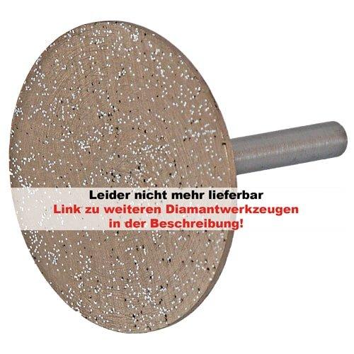 Diamant-Trennscheibe mit 6 mm Schaft