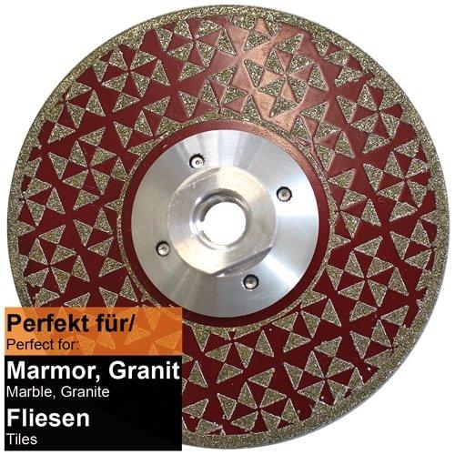 Diamanttrenn- und Schleifteller Ø 115 mm Art. 50351