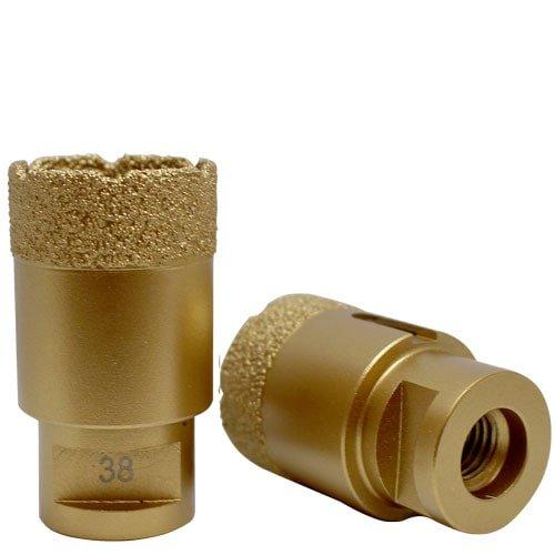 Bohrkrone gold Ø 38 mm, Art.-Nr. 50402