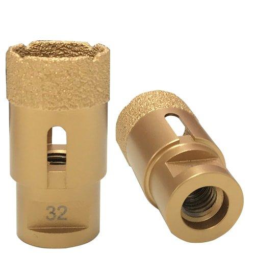 Trockenbohrkrone Gold, M14 - 32 mm von KARL DAHM