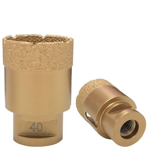Diamant-Trockenbohrkrone Gold, M14 - 40 mm von KARL DAHM