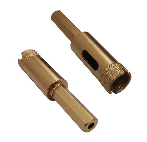 Diamant-Trockenbohrkrone Ø 20 mm, mit Bitaufname