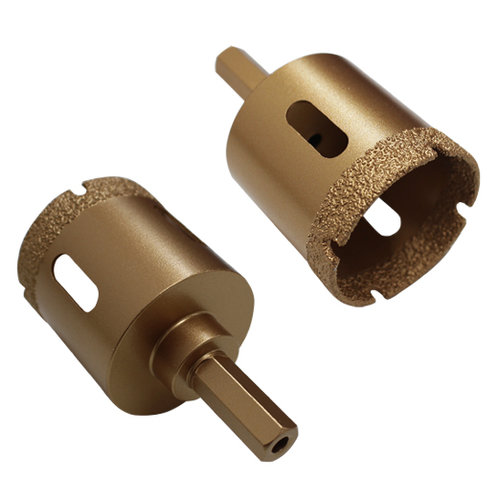 Diamant-Trockenbohrkrone GOLD Ø 50 mm, mit Bitaufnahme Art. 50420