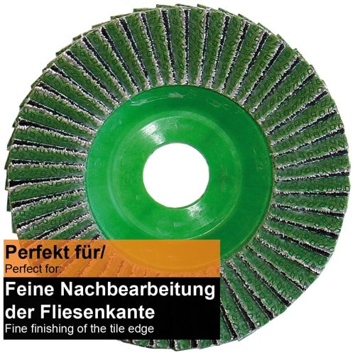 Diamant-Lamellen-Scheibe 115mm K60 Fächer, Art Nr. 50479