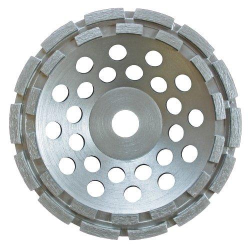 Diamantschleiftopf Standard 180 mm Durchmesser für den FLEX Betonschleifer 180 mm. für Naturstein, Granit und Beton