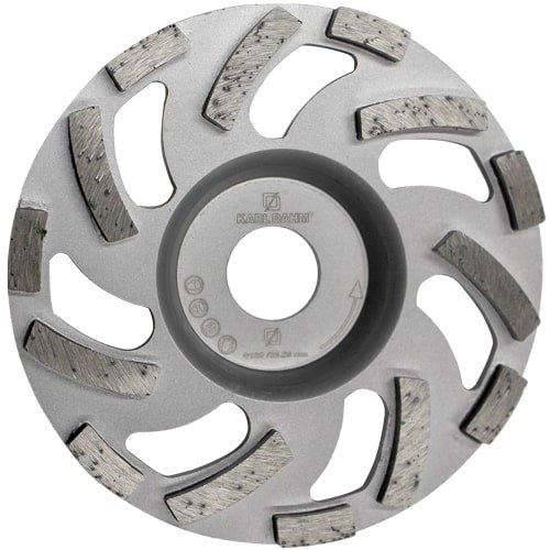 Diamond grinding wheel, Ø 125 mm, order no. 50522