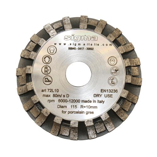 Rondofräser Radius 10 mm Ø 120 mm Art. 50526